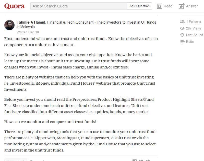 What is Quora and how Quora can help us to position ourselves to be an industry expert?