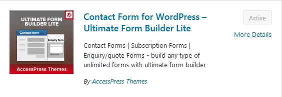 Ultimate Form Builder Lite image